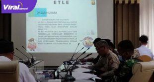 Rapat rutin Forum LLAJ Kabupaten Muba dalam Rangka pembahasan penindakan ODOL dan deklarasi serta pembahasan tilang elektronik. FOTO : VIRALSUMSEL.COM