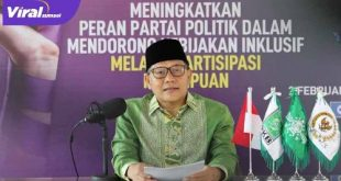 Ketua Umum DPP PKB Muhaimin Iskandar . FOTO : IG
