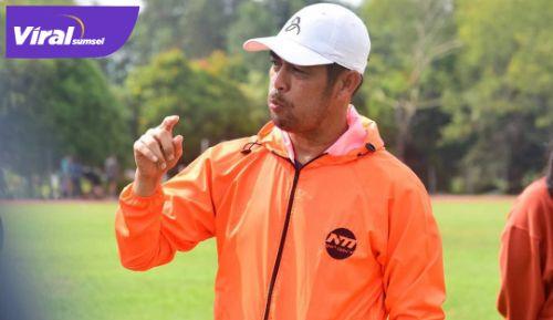 Nil Maizar Pelantih Kepada Sriwijaya FC. FOTO : VIRALSUMSEL.COM