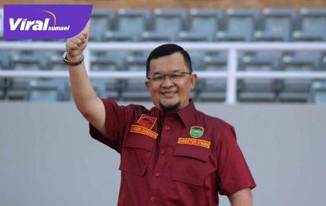H Hendri Zainuddin Presiden Klub Sriwijaya FC. FOTO : MO SFC