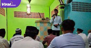 H Muchendi Mahzareki Wakil Ketua DPRD Sumsel Safari Ramadhan di Pedamaran OKI. FOTO : VIRALSUMSEL.COM