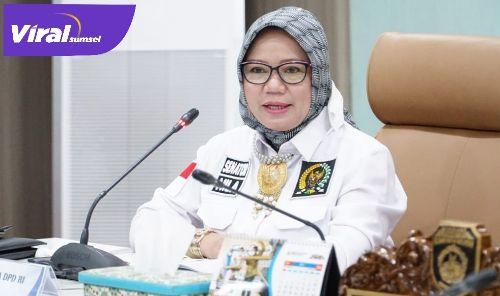 Anggota Komite IV DPD RI, Arniza Nilawati. FOTO : VIRALSUMSEL.COM