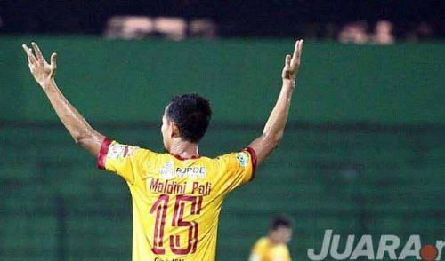 Maldini Pali saat berseragam Sriwijaya FC. FOTO : NET