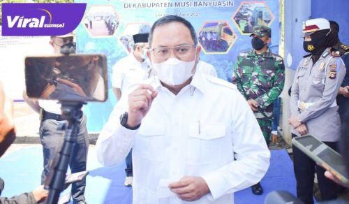 H Dodi Reza Alex Bupati Musi Banyuasin. FOTO : VIRALSUMSEL.COM