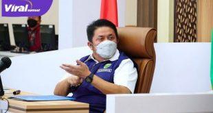 H Herman Deru Gubernur Sumatera Selatan. FOTO : VIRALSUMSEL.COM